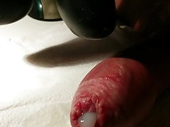 2 minute long oozing cumshot orgasm