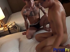 PETERFEVER Asian Hunk Ray Rims And Fucks Inked Twink Yusaku