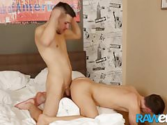 RAWEURO Beautiful Twink Gets Bareback Hard In Doggystyle