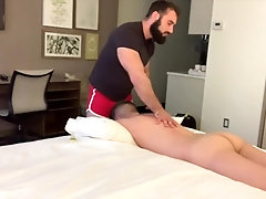 'Levi Phillips massaged and fucked by Jaxton Wheeler'