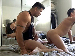 smashing masturbate Hunter in my Bedroom (Pt 2)