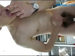 CHINESE STUDENT DIRTY TALK AND CUM
