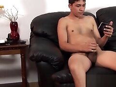 Chubby daddy takes a long ride on twinks raw fat cock