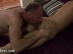An older guy fucking with his toyboy