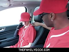 Young Twink Fucked By Black Coach After Baseball Practice