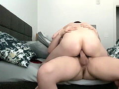 hotel fuck BAreback Creampie With Sexy Tatted youngster