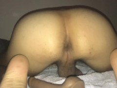 Anal orgasm after fucking my wet asshole with dildo (part2)