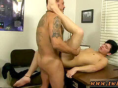 Deep assfuck gay sex close up youthful Ryker Madison has desired his teachers'
