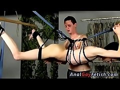 Bondage sex gay twinks Jerked And Drained Of Semen